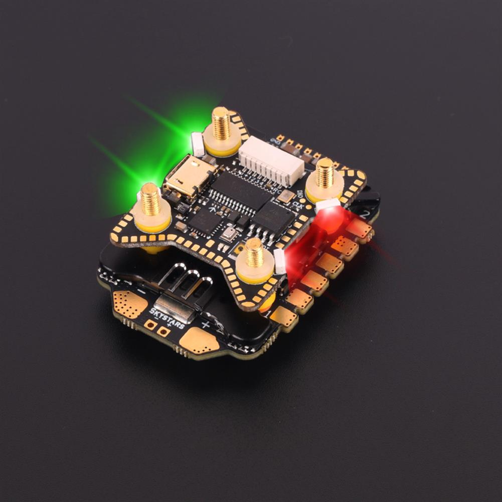 multi-rotor-parts 20x20mm Skystars F722HD F7 OSD 3-6S Flight Controller w/ 5V 10V BEC Output & KM55A 55A BL_32 4in1 ESC Stack for DJI Air Unit RC Drone FPV Racing HOB1797711