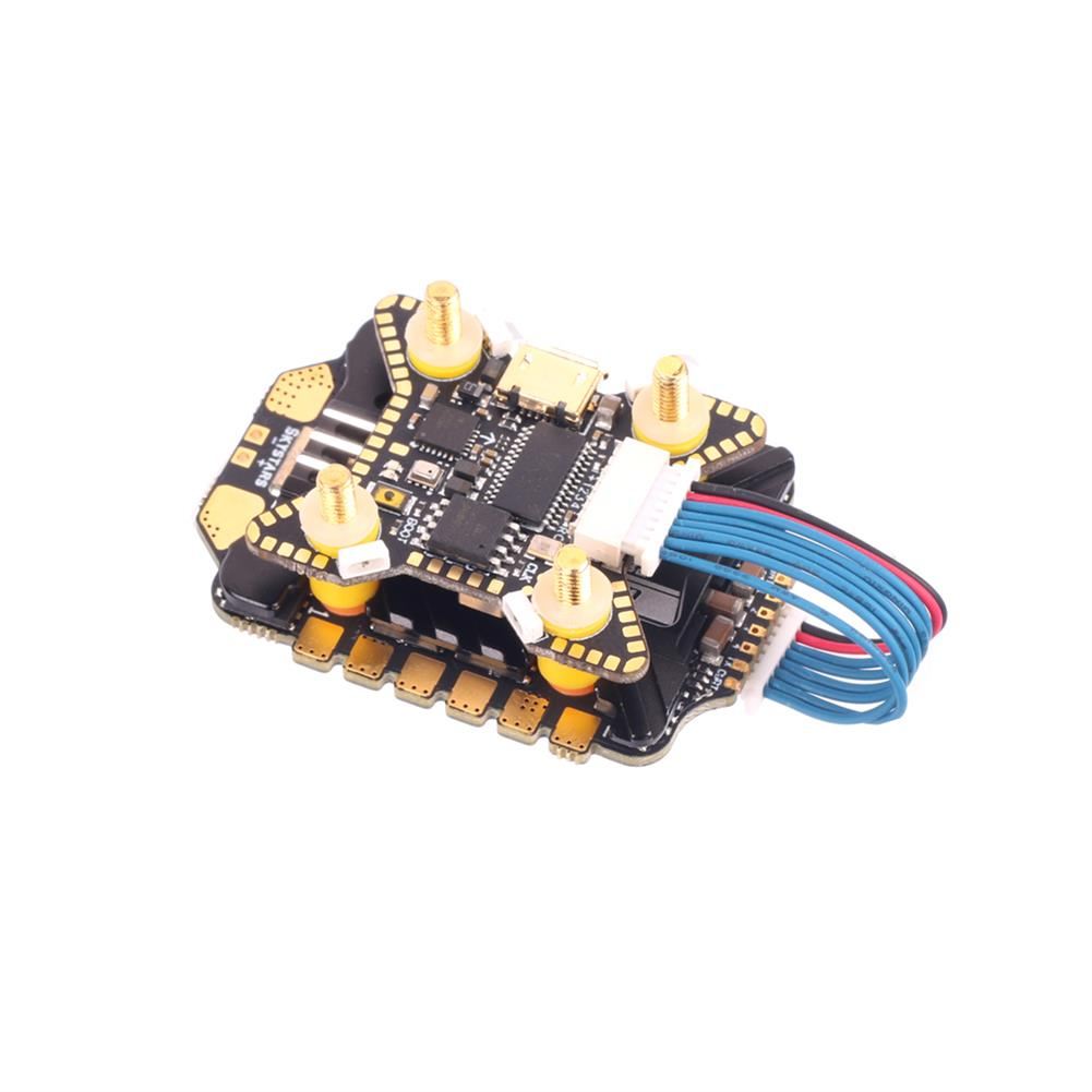 multi-rotor-parts 20x20mm Skystars F722HD F7 OSD 3-6S Flight Controller w/ 5V 10V BEC Output & KM55A 55A BL_32 4in1 ESC Stack for DJI Air Unit RC Drone FPV Racing HOB1797711 2