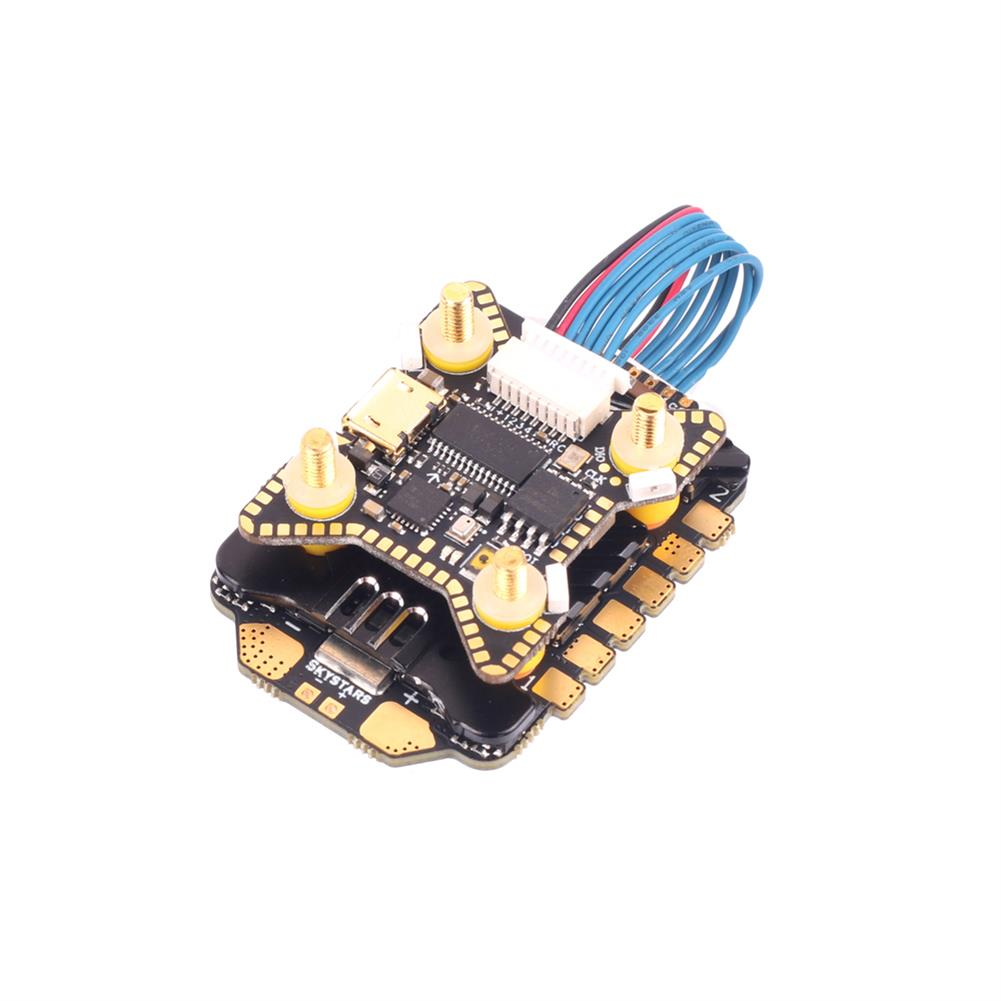 multi-rotor-parts 20x20mm Skystars F722HD F7 OSD 3-6S Flight Controller w/ 5V 10V BEC Output & KM55A 55A BL_32 4in1 ESC Stack for DJI Air Unit RC Drone FPV Racing HOB1797711 3