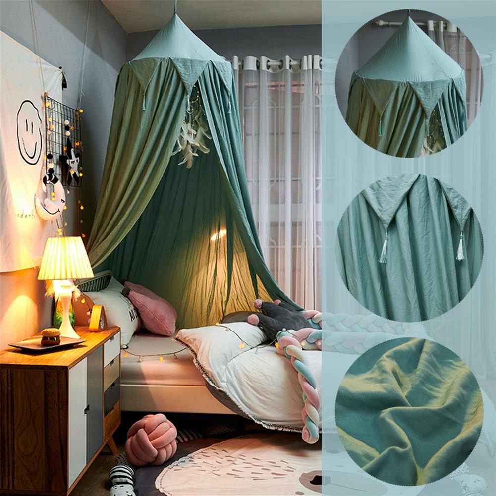 play-mats Nordic Style Princess Kids Baby Bed Room Canopy Mosquito Net Curtain for Bedding Dome 10t HOB1797964