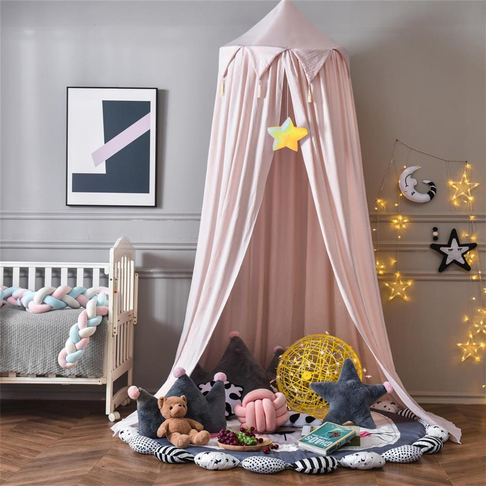 play-mats Nordic Style Princess Kids Baby Bed Room Canopy Mosquito Net Curtain for Bedding Dome 10t HOB1797964 1