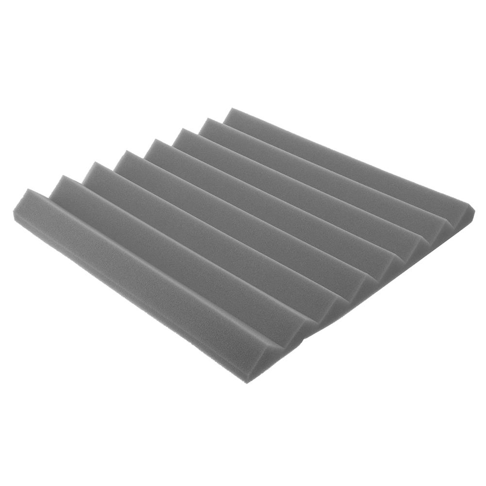 general-accessories 4PCs Acoustic Panels Tiles Studio Sound Proofing insulation Closed Cell Foam HOB1798038 3