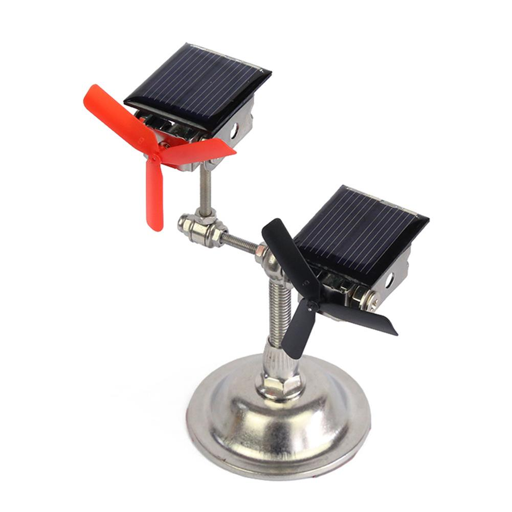 science-discovery-toys STARK Double-headed Solar Windmill Desktop Crafts Scientific Experiment Model Technological Toy Creative DIY Decoration HOB1798095 1