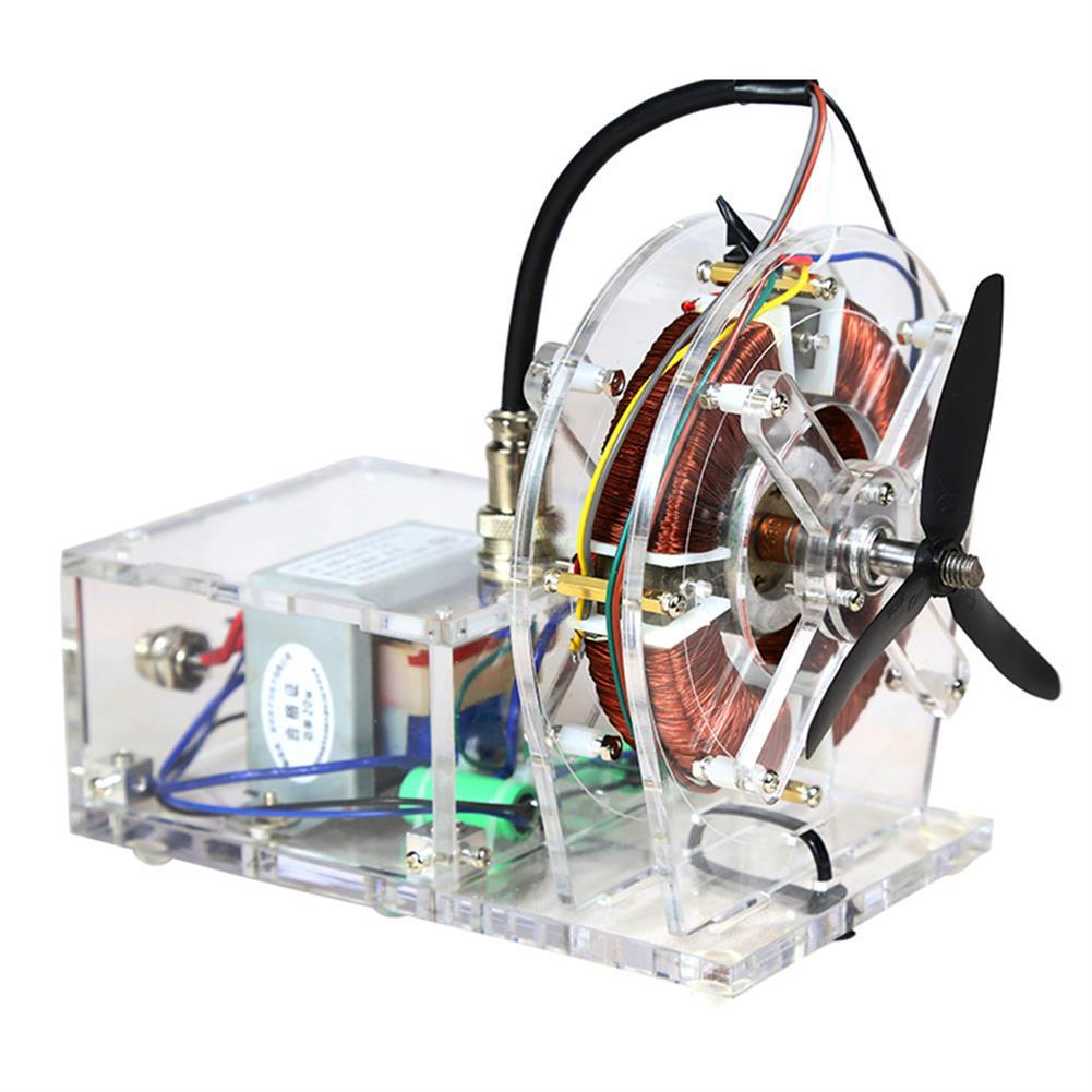 science-discovery-toys STARK-316 AC Asynchronous Motor Model Brushless Motor Teaching Model High-tech Toys HOB1798096