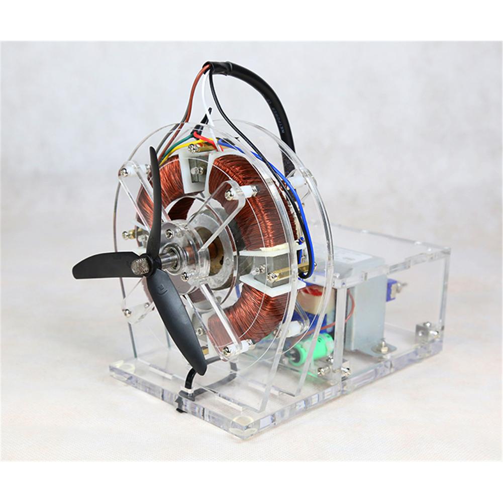 science-discovery-toys STARK-316 AC Asynchronous Motor Model Brushless Motor Teaching Model High-tech Toys HOB1798096 1