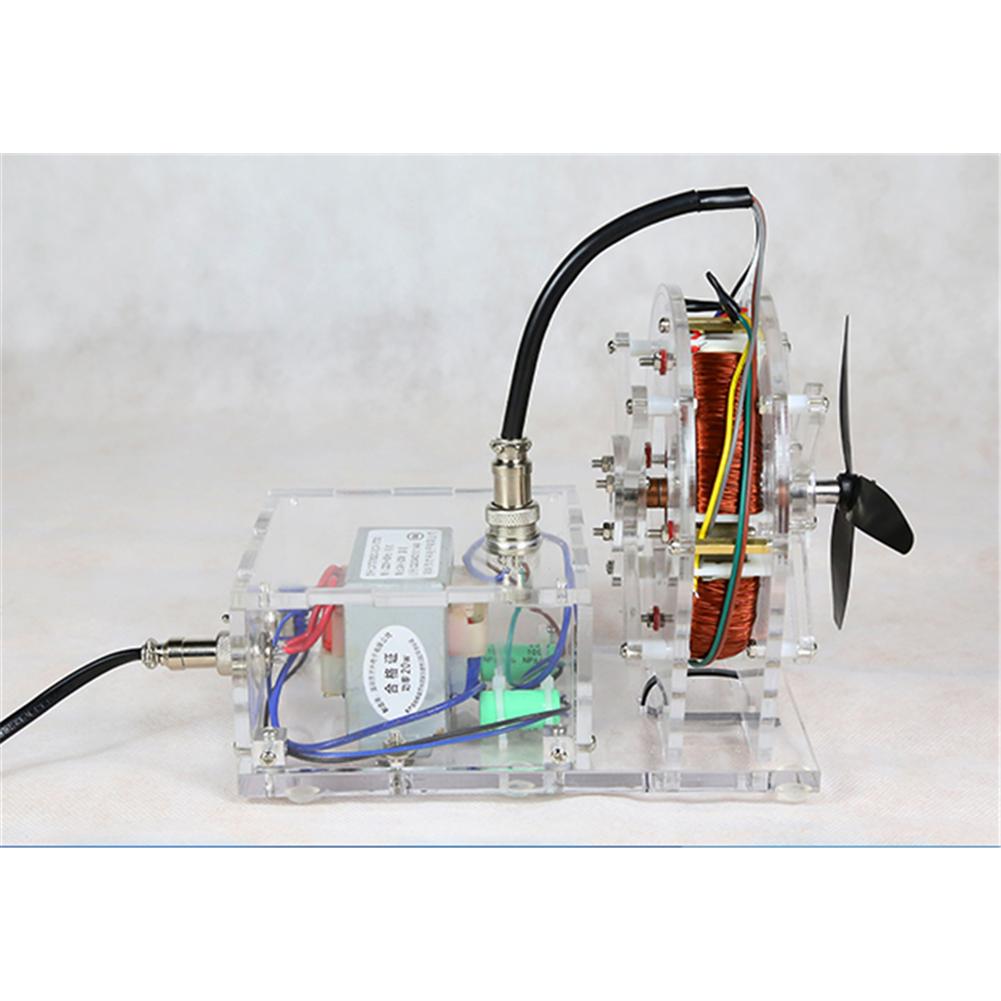 science-discovery-toys STARK-316 AC Asynchronous Motor Model Brushless Motor Teaching Model High-tech Toys HOB1798096 3
