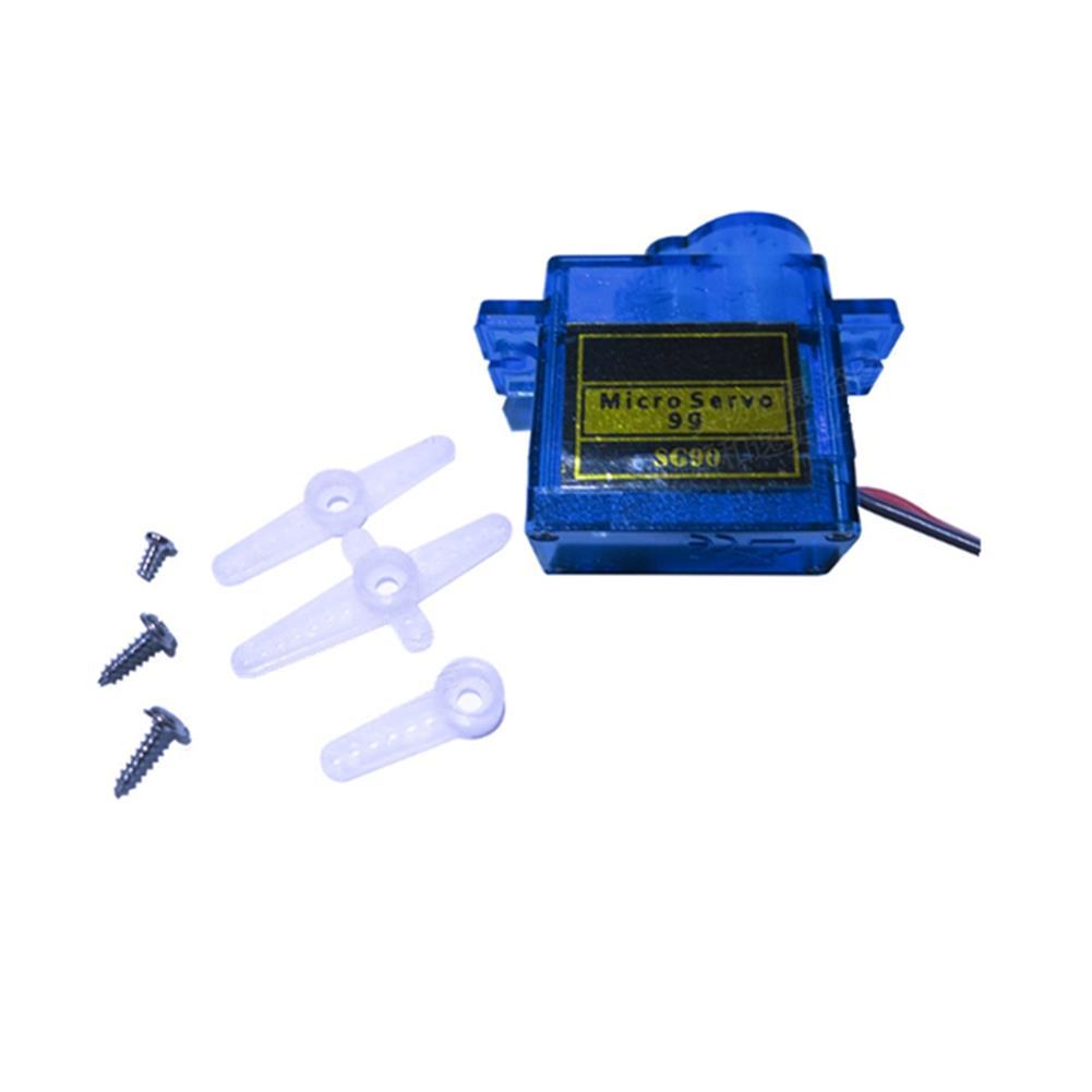 rc-airplane-parts 20PCS NHYTech SG90 9g 4.8-6V Mini Analog Servo Smart Horn for RC Fixed Wing Airplane Model Robot Parts Motor DIY Models HOB1798174 1