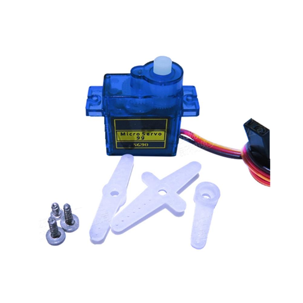 rc-airplane-parts 20PCS NHYTech SG90 9g 4.8-6V Mini Analog Servo Smart Horn for RC Fixed Wing Airplane Model Robot Parts Motor DIY Models HOB1798174 2