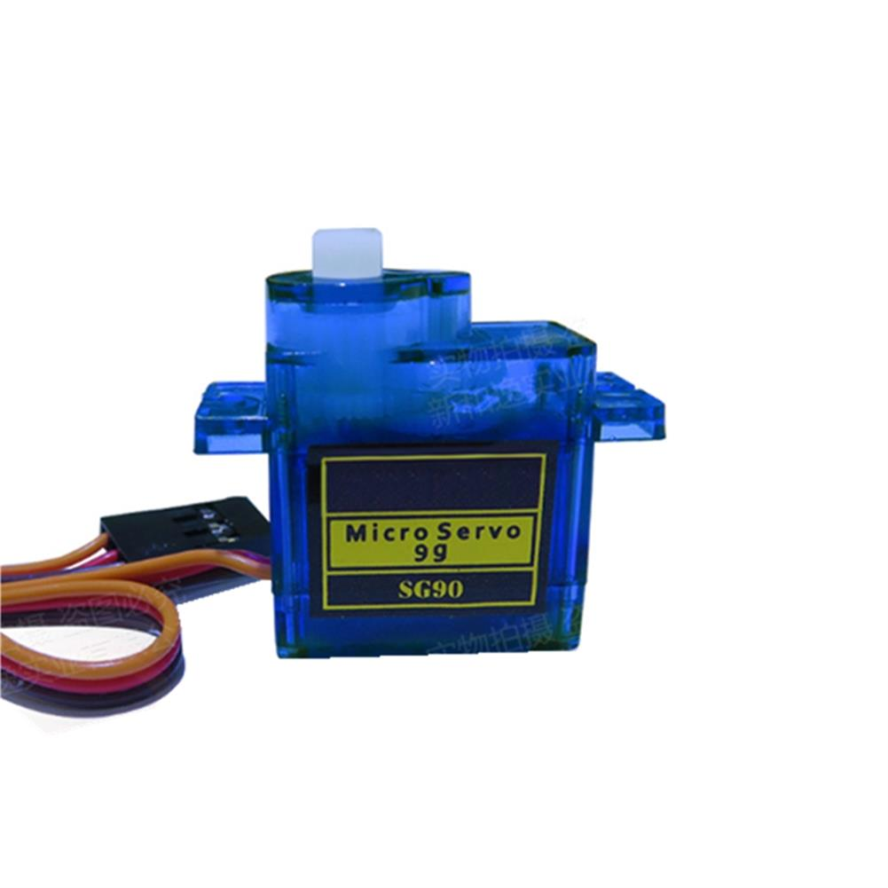 rc-airplane-parts 20PCS NHYTech SG90 9g 4.8-6V Mini Analog Servo Smart Horn for RC Fixed Wing Airplane Model Robot Parts Motor DIY Models HOB1798174 3