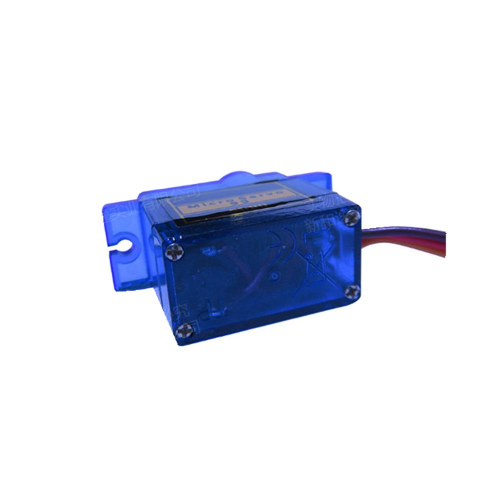 rc-airplane-parts 4PCS NHYTech SG90 9g 4.8-6V Mini Analog Servo Smart Horn for RC Fixed Wing Airplane Model Robot Parts Motor DIY Models HOB1798209 3