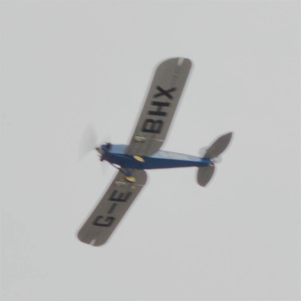rc-airplane Tony Ray's AeroModel DH.53 De Havilland Hummingbird 500mm Wingspan Balsa Wood Laser Cut RC Airplane KIT HOB1798332 2