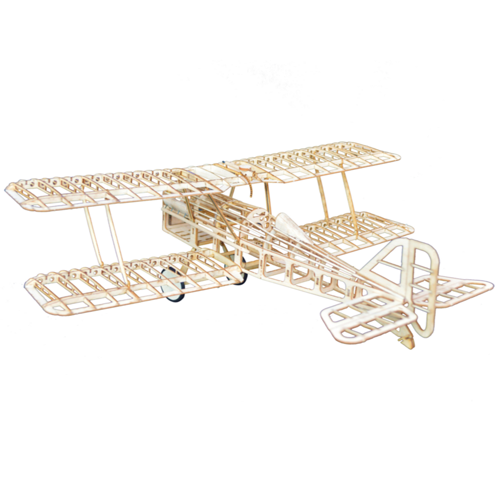 rc-airplane Tony Ray's AeroModel RAF SE5a 480mm Wingspan Balsa Wood Laser Cut Biplane RC Airplane Warbird KIT HOB1798680 1