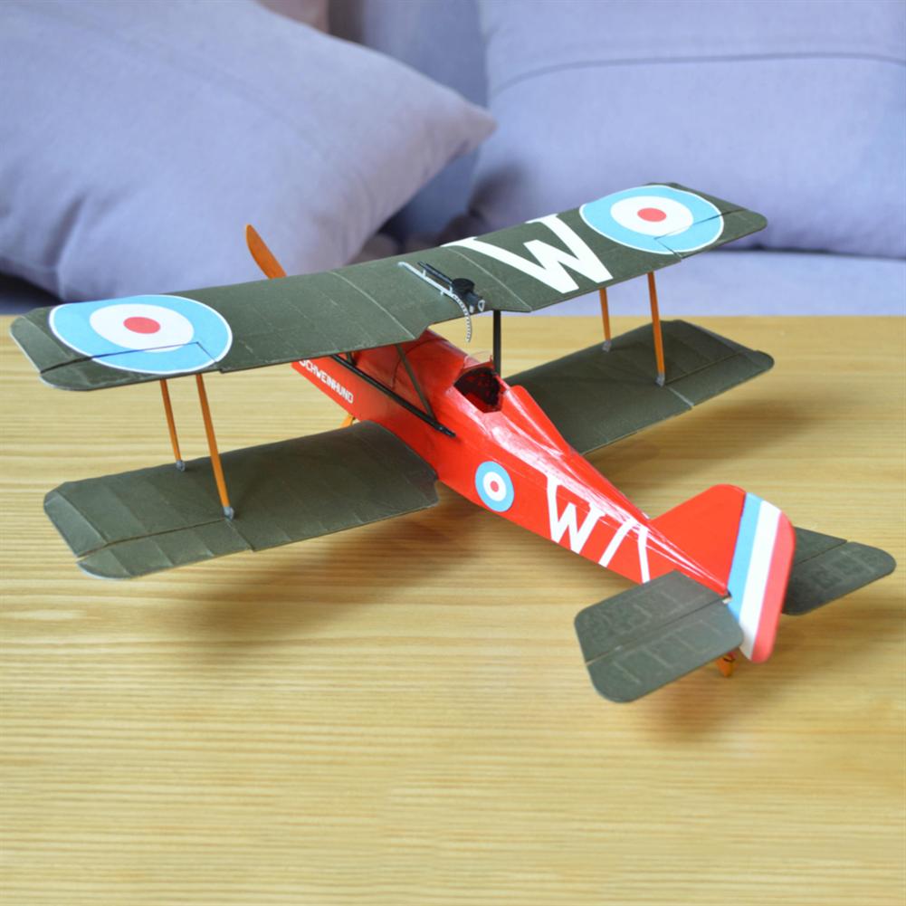 rc-airplane Tony Ray's AeroModel RAF SE5a 480mm Wingspan Balsa Wood Laser Cut Biplane RC Airplane Warbird KIT HOB1798680 3