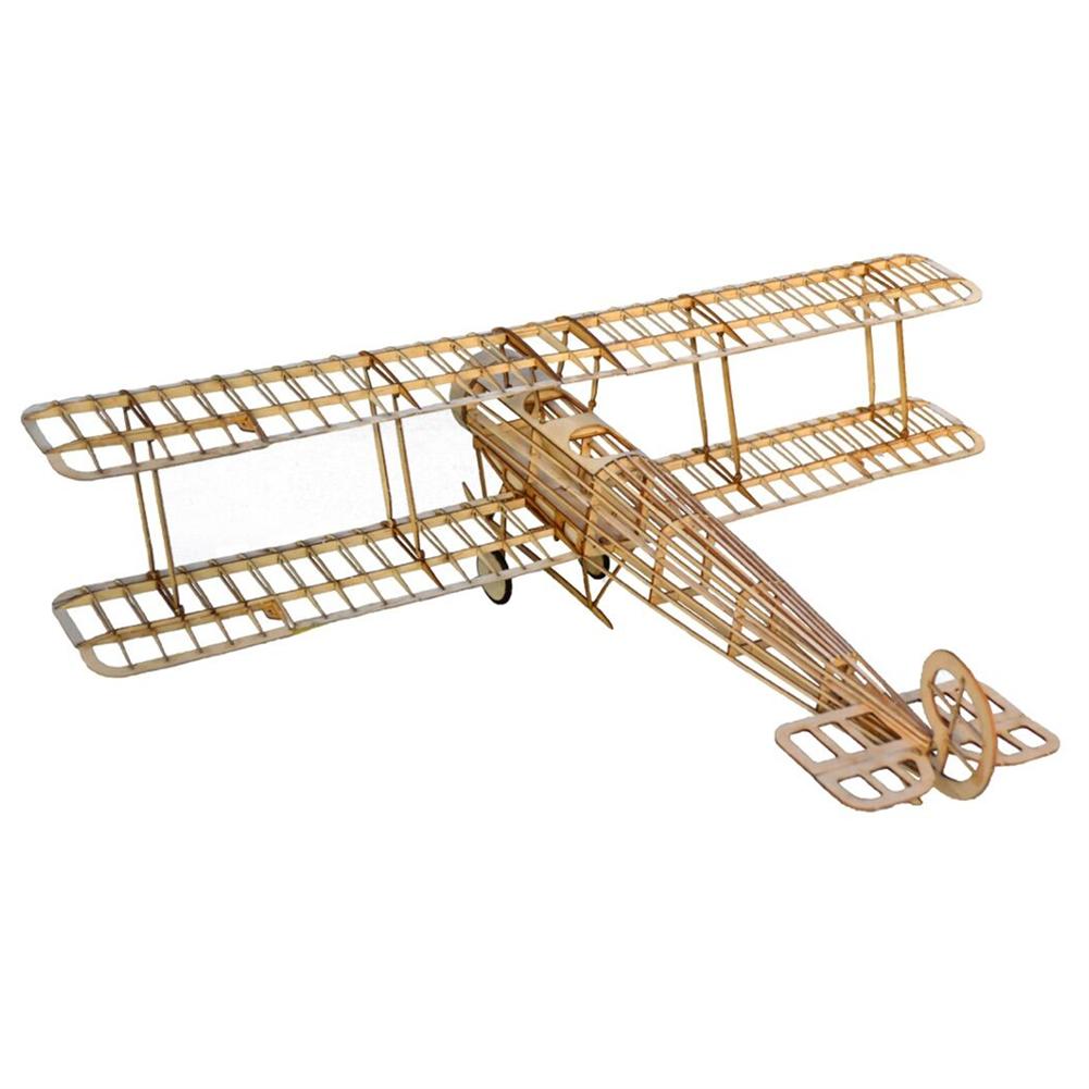 rc-airplane Tony Ray's AeroModel Avro 504K 505mm Wingspan Balsa Wood Laser Cut RC Airplane Trainer KIT HOB1798703 1