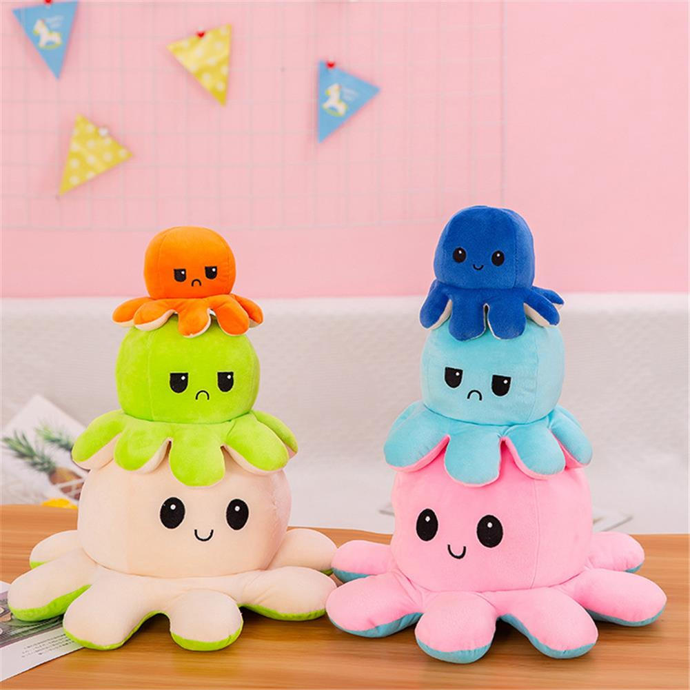 stuffed-plush-toys Flip Octopus Doll Flip Octopus Octopus Plush Toy Double-sided Flip Doll Reversible Octopus Toys HOB1798845 1