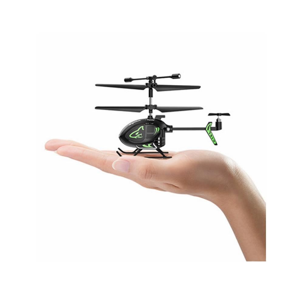 rc-helicopter SYMA S100 3CH 2.4Ghz Remote Control intelligent Fixed Height Mini Helicopter Children's Toys HOB1799134