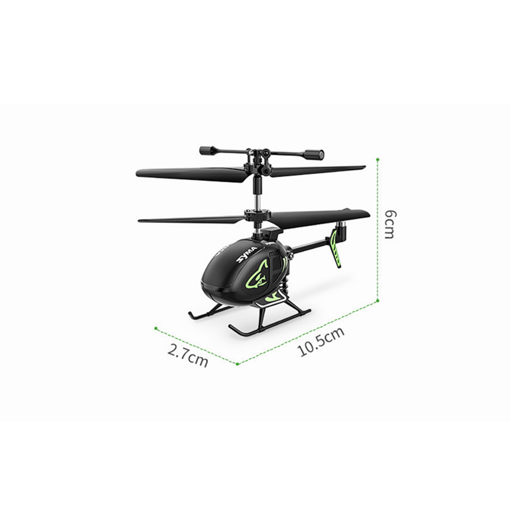 rc-helicopter SYMA S100 3CH 2.4Ghz Remote Control intelligent Fixed Height Mini Helicopter Children's Toys HOB1799134 2