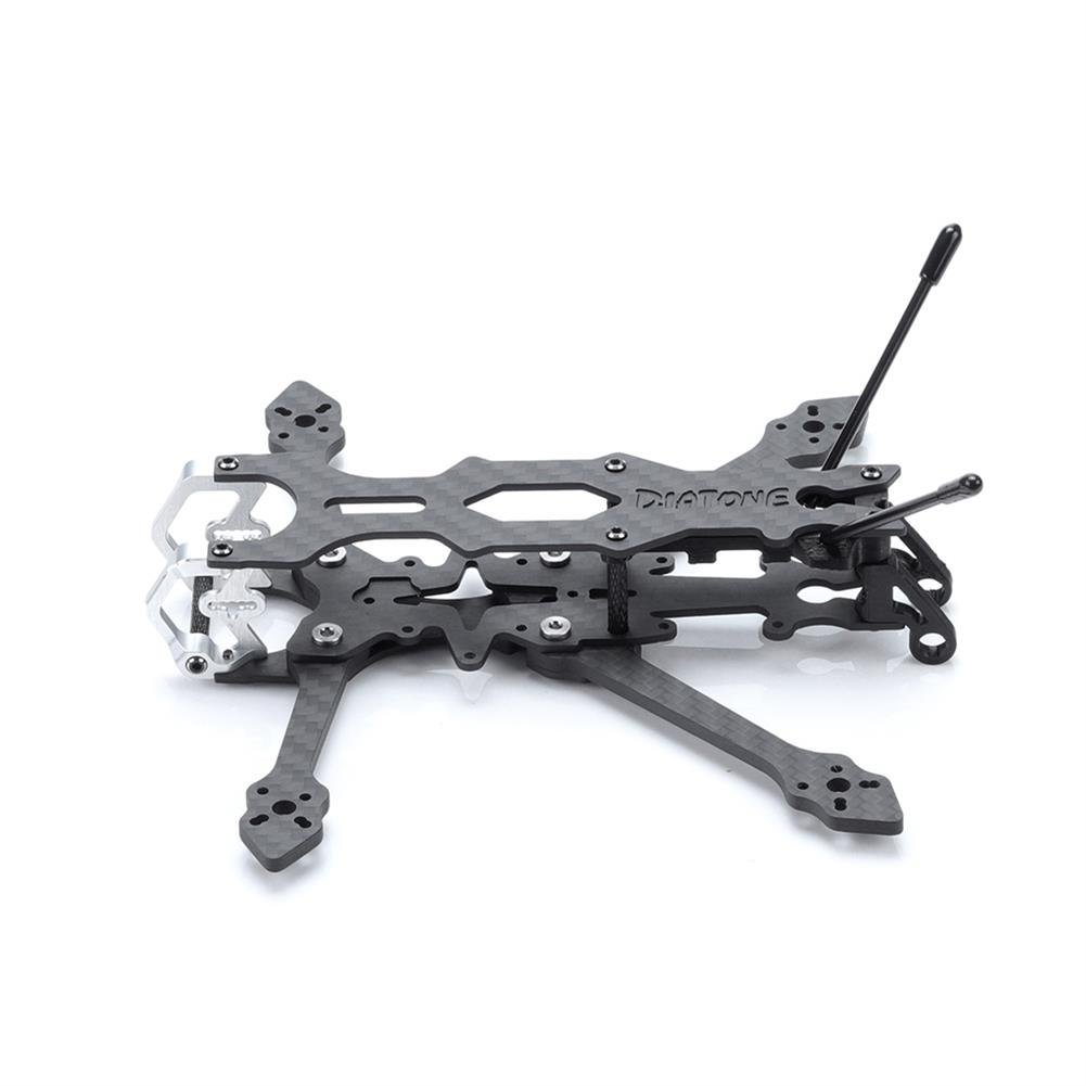 multi-rotor-parts Diatone Roma L3 3 inch 147mm Carbon Fiber Frame Kit 2020/26.526.5mm Mounting Hole for RC Drone FPV Racing HOB1799541 3