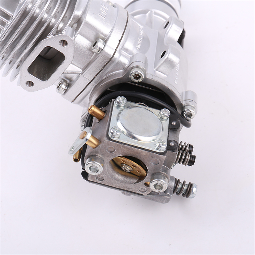 rc-airplane-parts DLE Gasoline Engine DLE20RA 20CC Single Cylinder 2-Stroke Rear Exhaust Air-cooled Hand Start with Ignition and Exhaust Pipe for RC Airplane HOB1799666 3