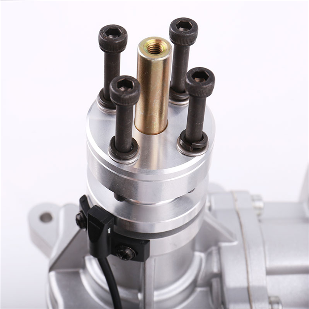 rc-airplane-parts DLE Gasoline Engine DLE55RA 55CC Single Cylinder 2-Stroke Rear Exhaust Air-cooled Hand Start with Ignition and Exhaust Pipe for RC Airplane HOB1799671 3