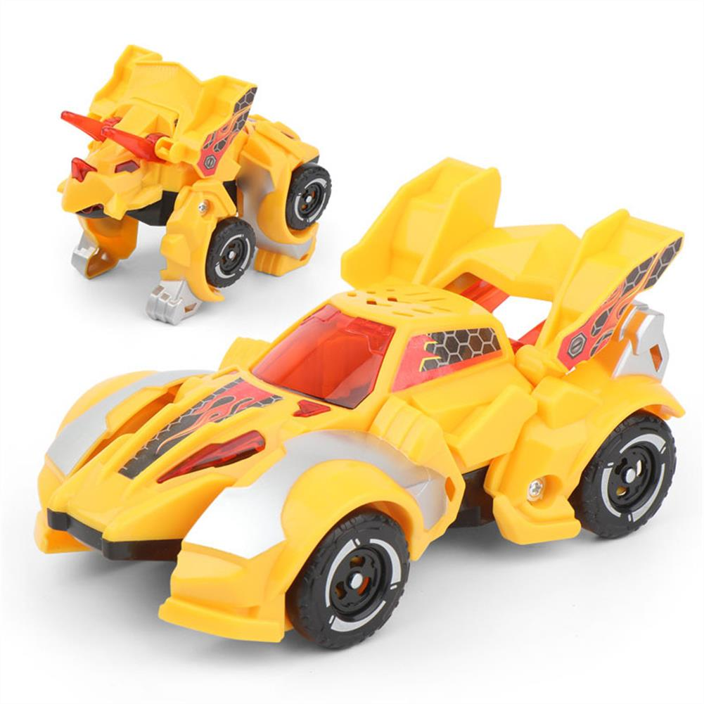 robot-toys Children's Vehicle Model Toy inertia Dinosaur Deformation Car Robot Car Early Education Puzzle Toy for Boys Kids HOB1799878 1