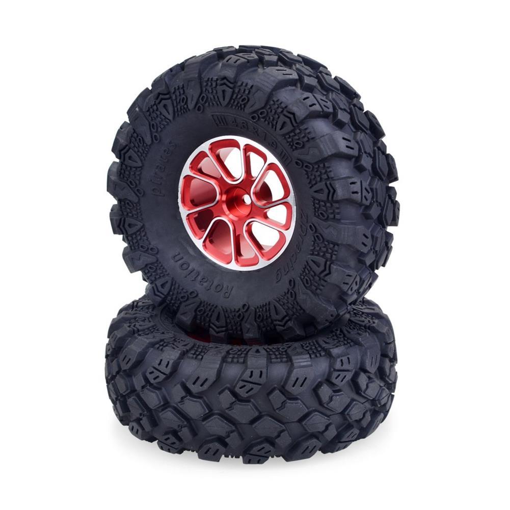 rc-car-parts 4PCS ZD Racing Priates 1.9inch 1/10 Crawler RC Car Wheel Tire Vehicle Models Parts HOB1799898 1