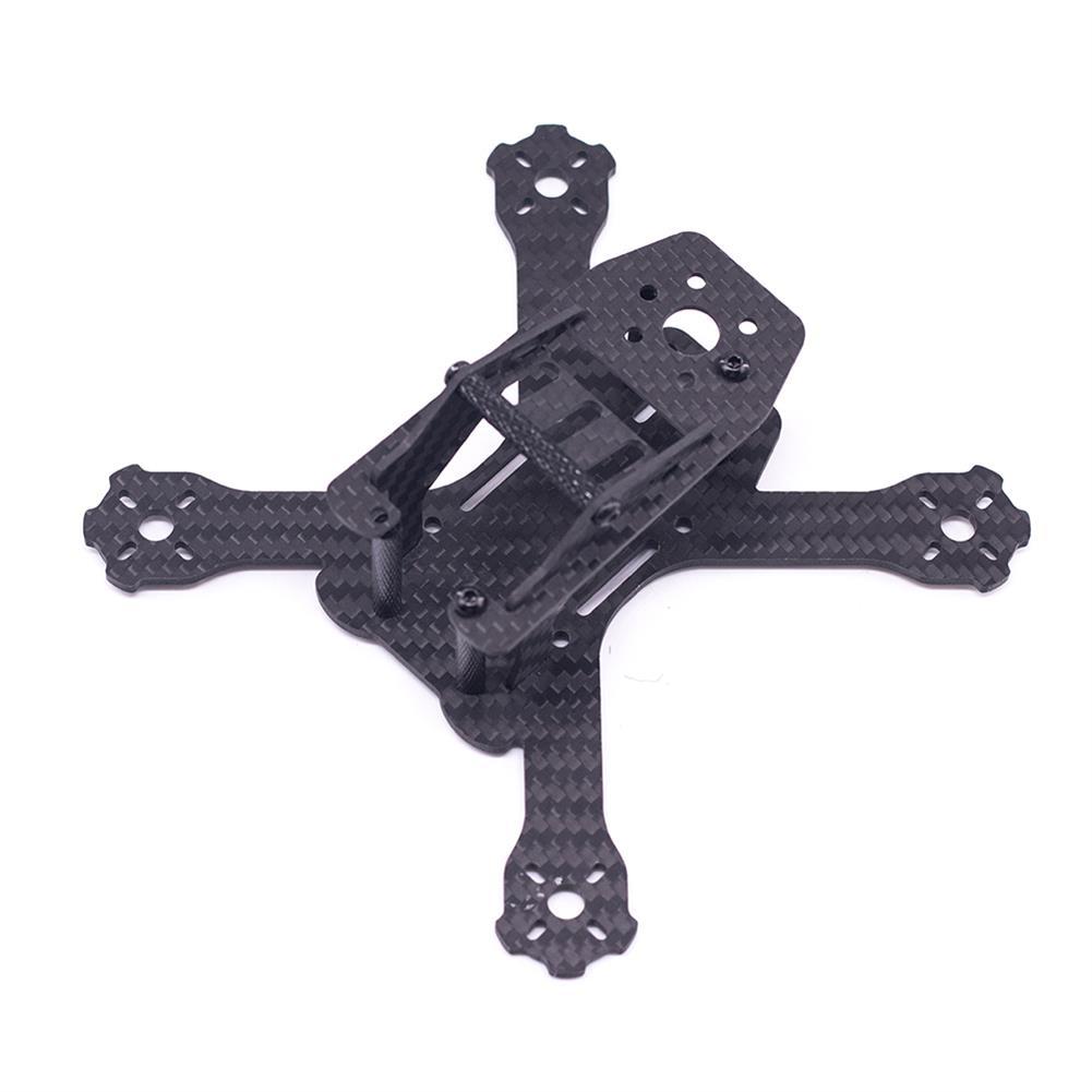 multi-rotor-parts URUAV Cost-E QAV 130mm Wheelbase 3mm Arm Thickness H Type 3 inch Frame Kit for RC FPV Racing Drone HOB1799993 2