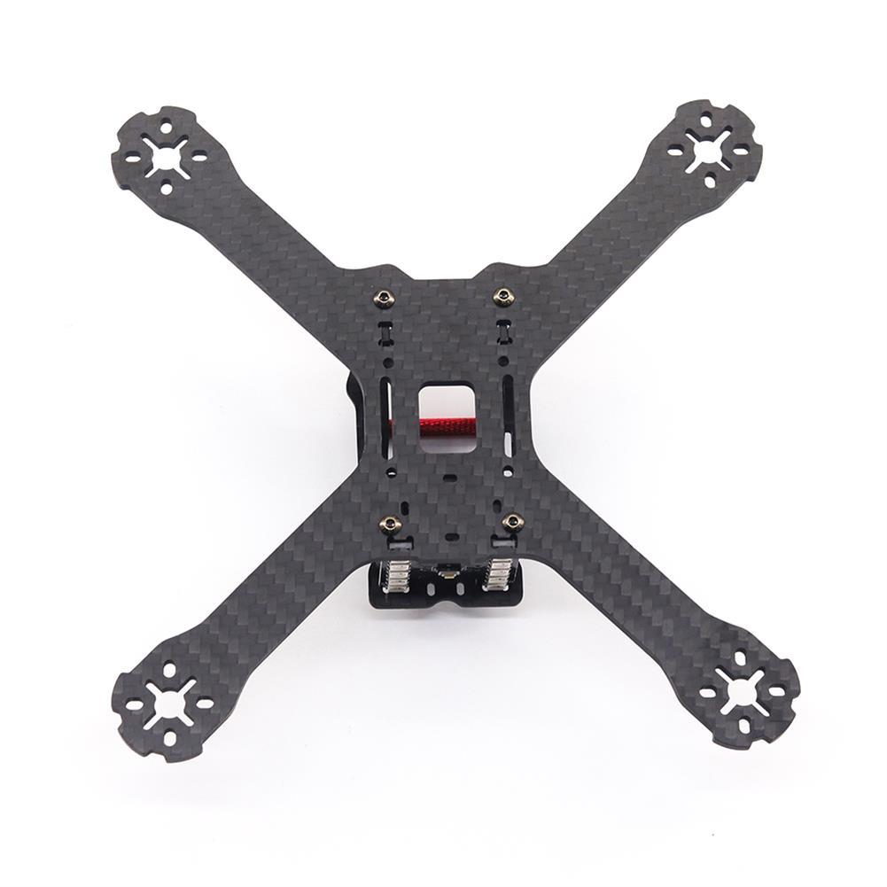 multi-rotor-parts URUAV Cost-E 3K 210mm Wheelbase 4mm Thickness 3K Carbon Fiber Frame Kit for RC FPV Racing Drone HOB1800001 2