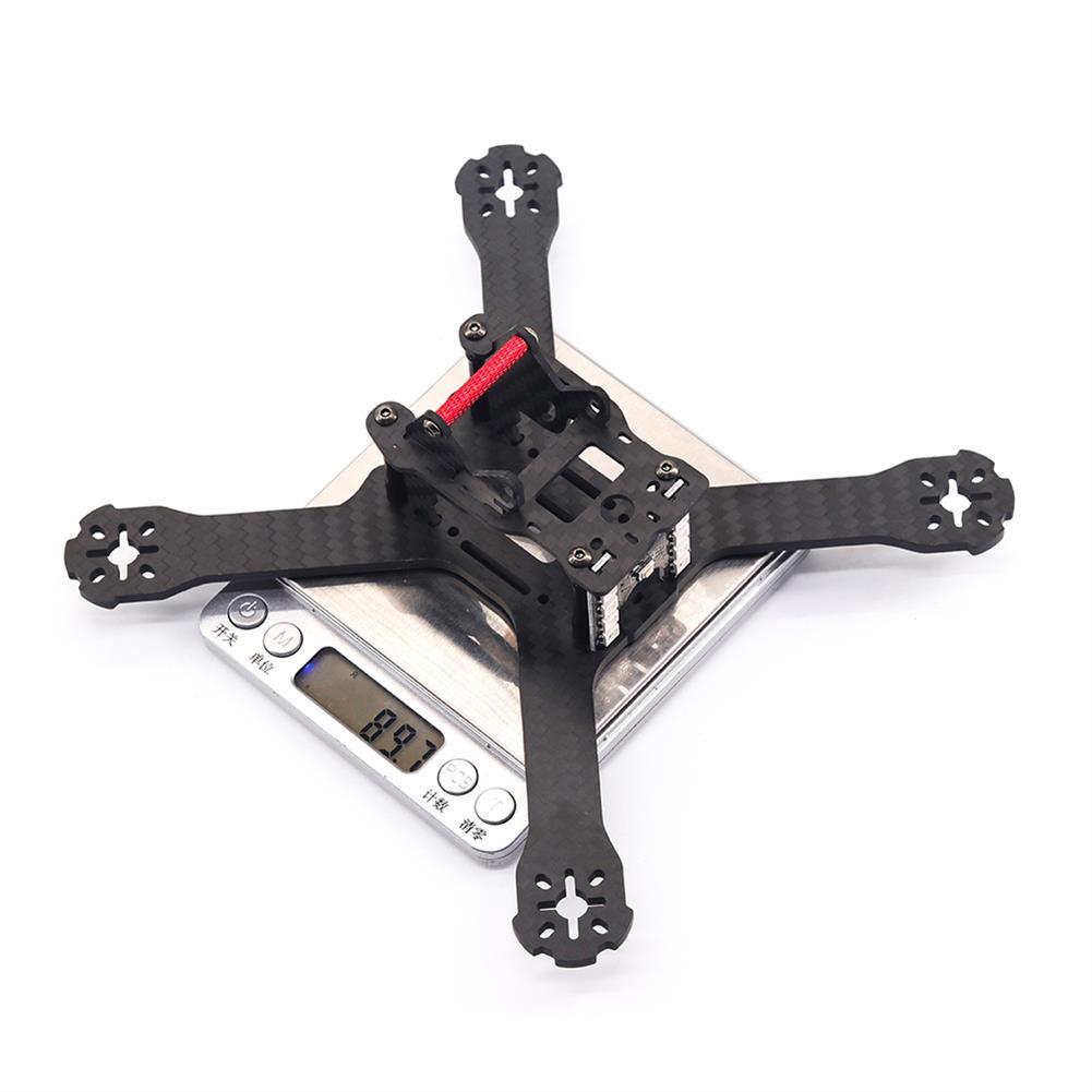 multi-rotor-parts URUAV Cost-E 3K 210mm Wheelbase 4mm Thickness 3K Carbon Fiber Frame Kit for RC FPV Racing Drone HOB1800001 3