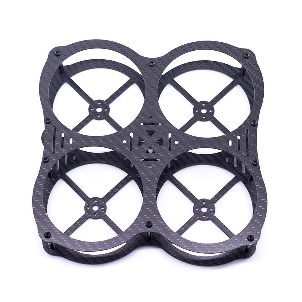 multi-rotor-parts URUAV Cost-E CW 130mm Wheelbase 3 inch Type-X Carbon Fiber Frame Kit for RC FPV Racing Drone HOB1800027 1