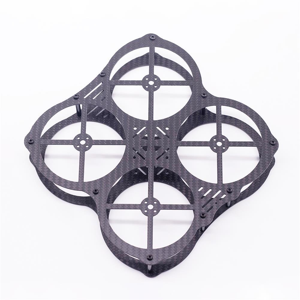 multi-rotor-parts URUAV Cost-E CW 130mm Wheelbase 3 inch Type-X Carbon Fiber Frame Kit for RC FPV Racing Drone HOB1800027 2