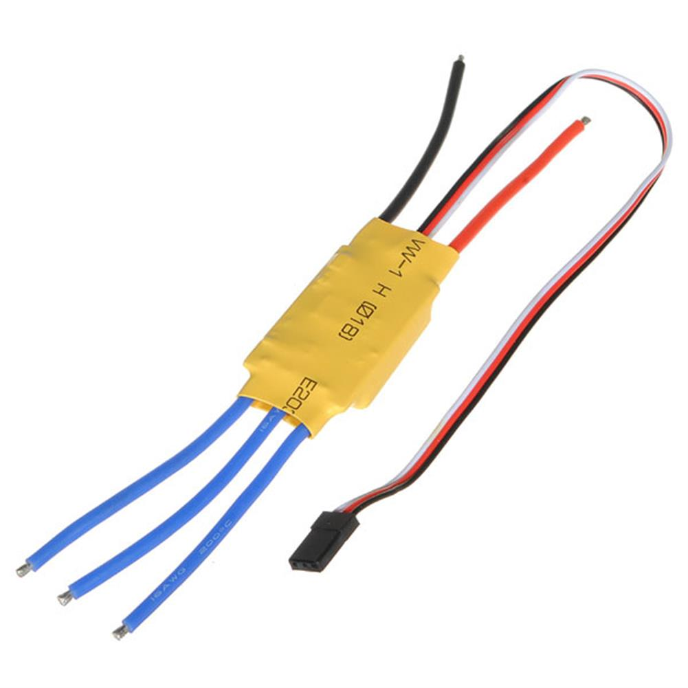 rc-airplane-parts 2PCS XXD HW30A 30A Brushless Motor ESC for Airplane Quadcopter HOB1800245 1