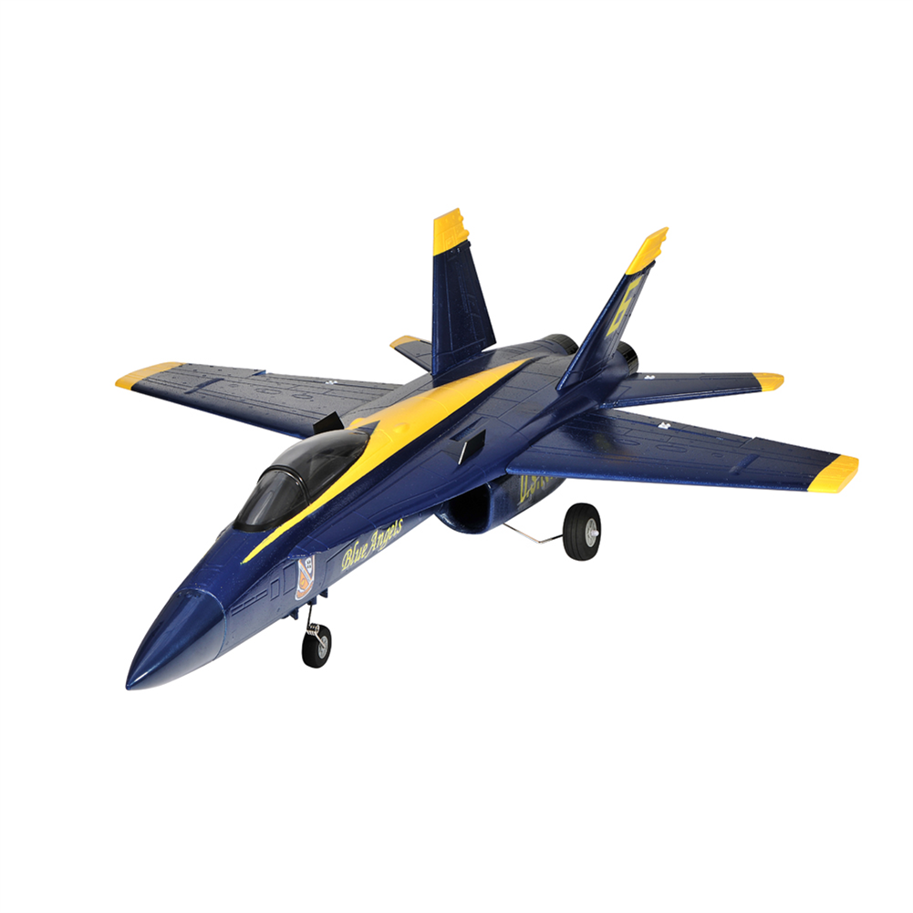 rc-airplane TOPRC 64mm EDF F-18 Blue Angel 686mm Wingspan EPO 3D Aerobatic RC Airplane Jet PNP HOB1801734