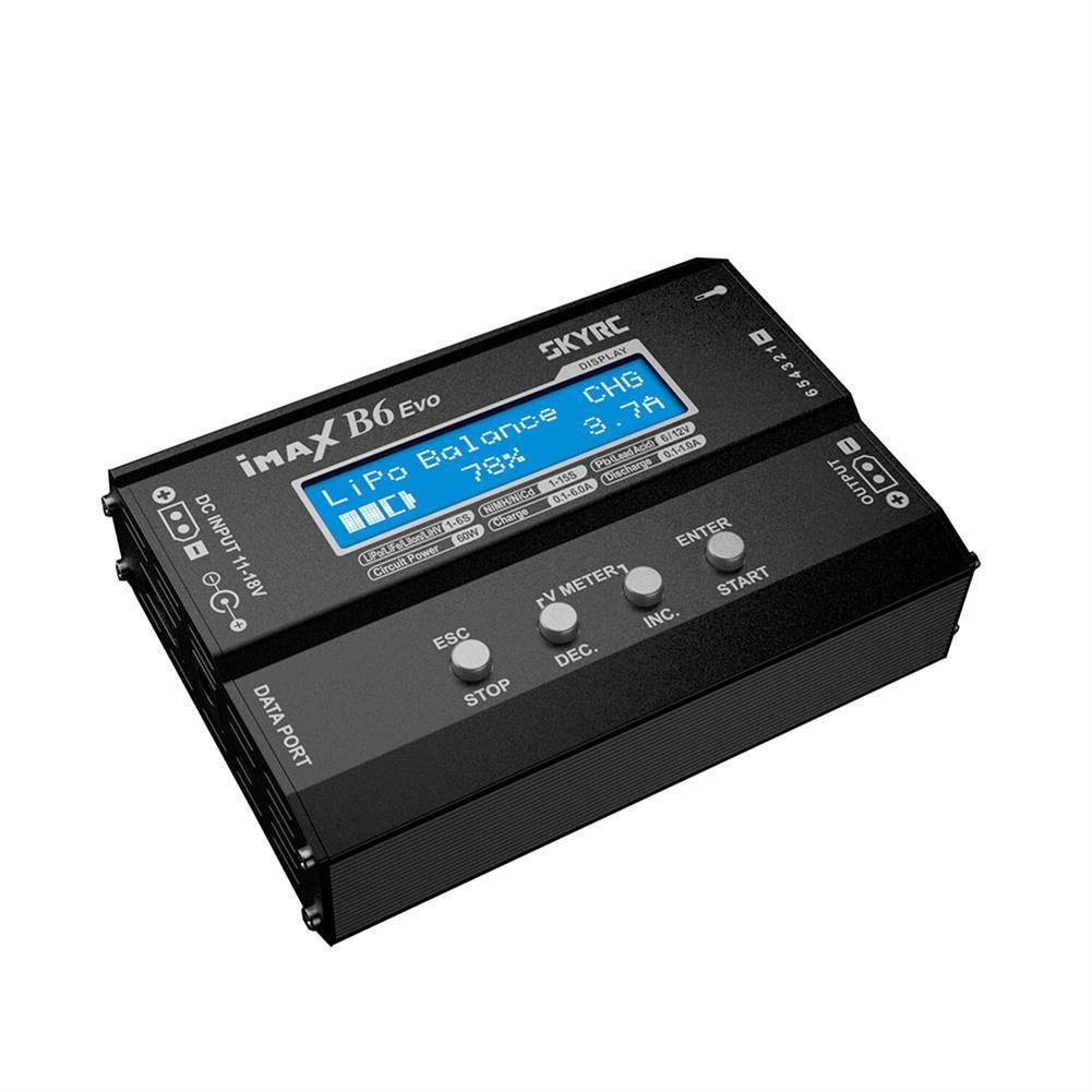 battery-charger SKYRC IMAX B6 EVO 6A 60W Balance Charger Discharger for NiMH NiCD LiHV NiCd PB Li-ion Battery HOB1801858 1