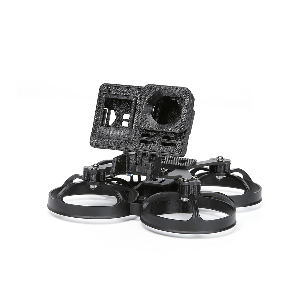 multi-rotor-parts iFlight Alpha C85 85mm Pusher Whoop DIY Frame Kit Support Naked Gopro Hero8 / insta360 Go for RC Drone FPV Racing HOB1803055 3