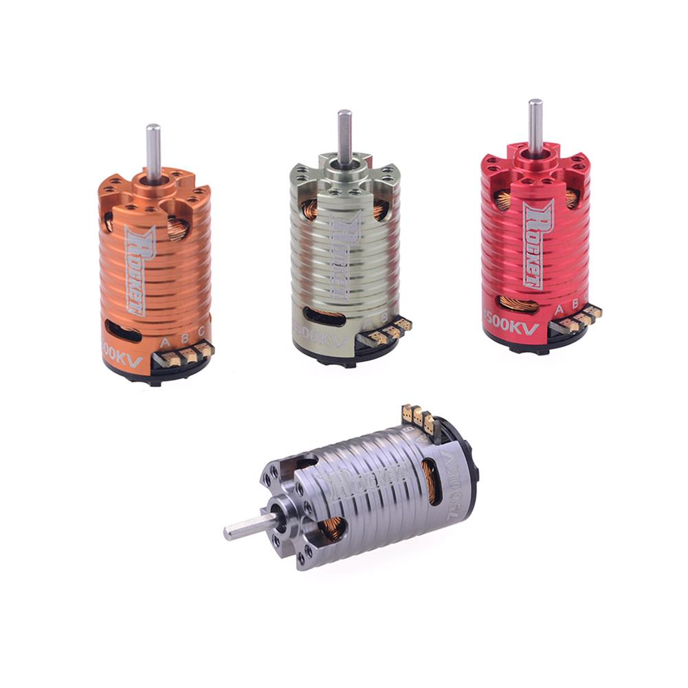 rc-car-parts Surpass Hobby Rocket V2 Mini-z 1410 2 Pole Brushless Motor for 1/24 1/28 RC Car Parts HOB1803729