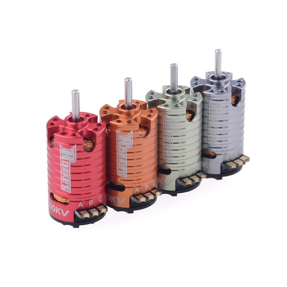 rc-car-parts Surpass Hobby Rocket V2 Mini-z 1410 2 Pole Brushless Motor for 1/24 1/28 RC Car Parts HOB1803729 1