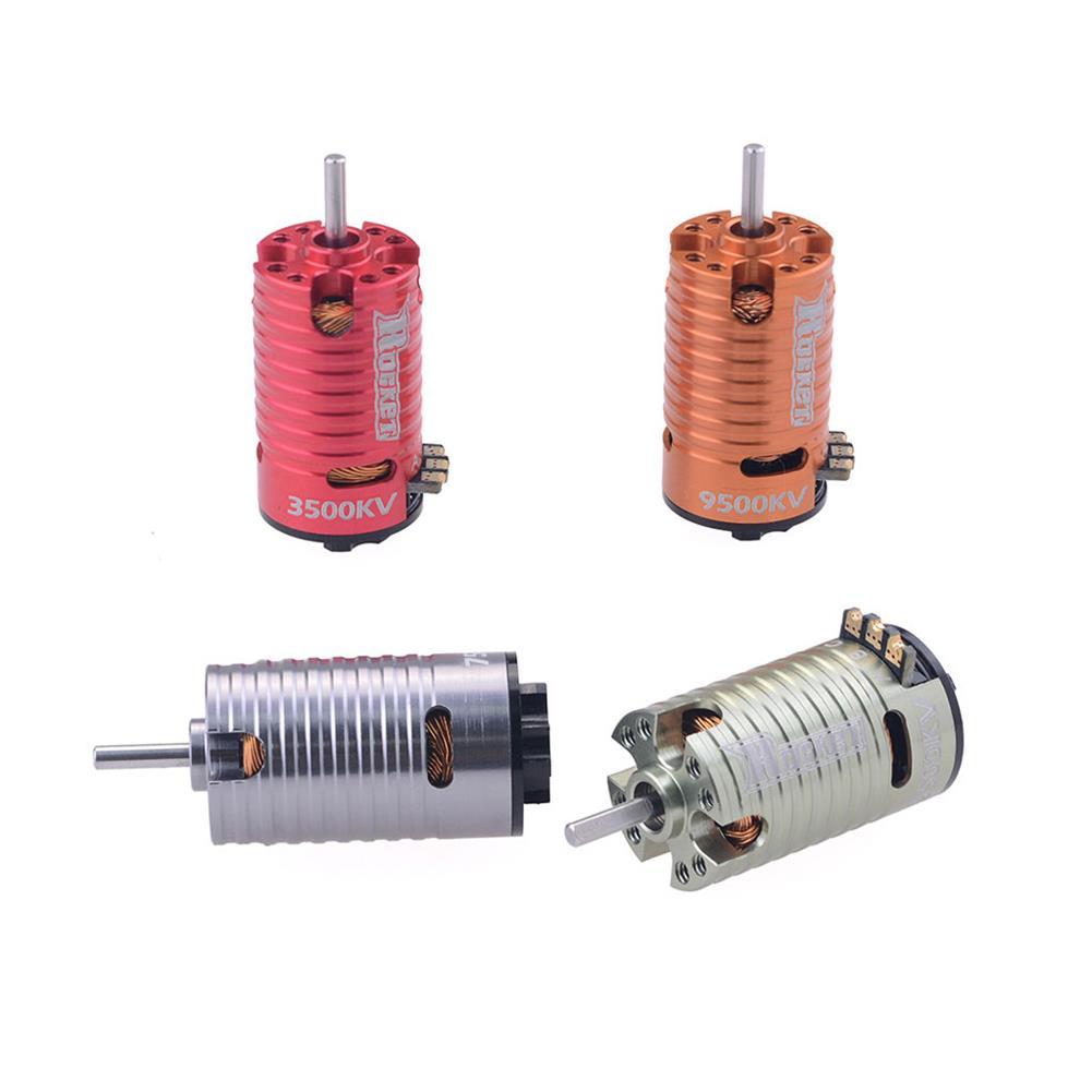 rc-car-parts Surpass Hobby Rocket V2 Mini-z 1410 2 Pole Brushless Motor for 1/24 1/28 RC Car Parts HOB1803729 2