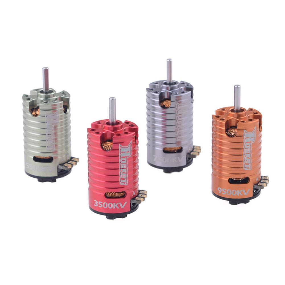 rc-car-parts Surpass Hobby Rocket V2 Mini-z 1410 2 Pole Brushless Motor for 1/24 1/28 RC Car Parts HOB1803729 3