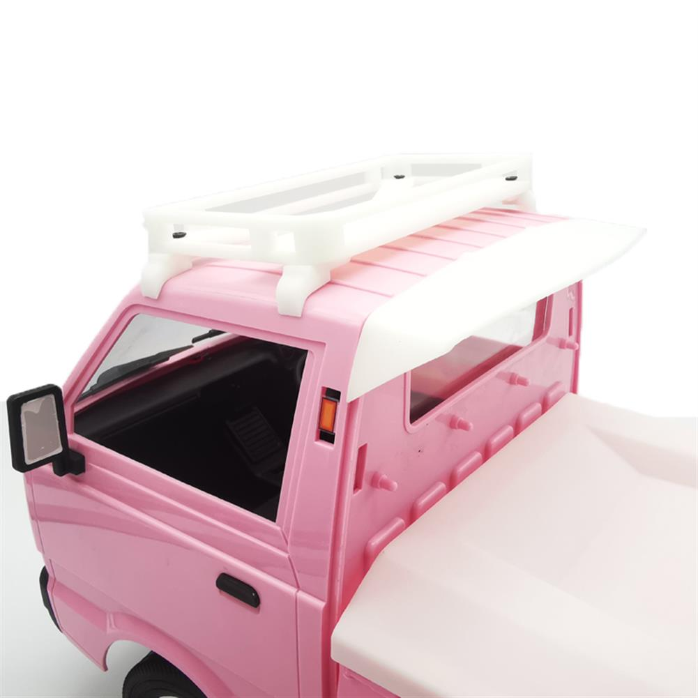 rc-car-parts WPL D12 1/10 Luggage Rack for Military Truck Crawler off Road RC Car Vehicle Models Toy HOB1803766 2