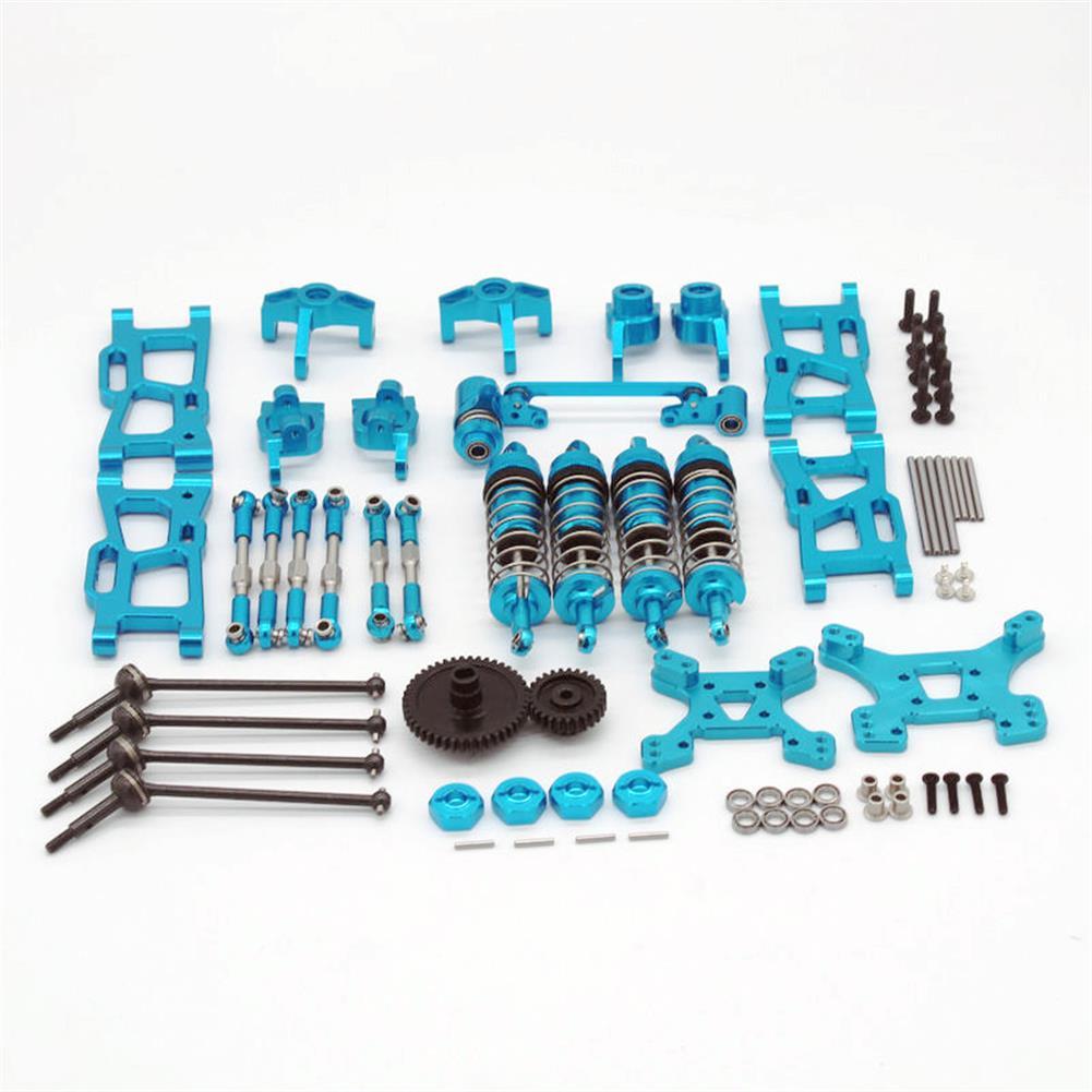 rc-car-parts Wltoys 1/14 144001 124019 Upgrade Metal Upgrade Parts with Shock Adapter Set RC Car Parts HOB1803778