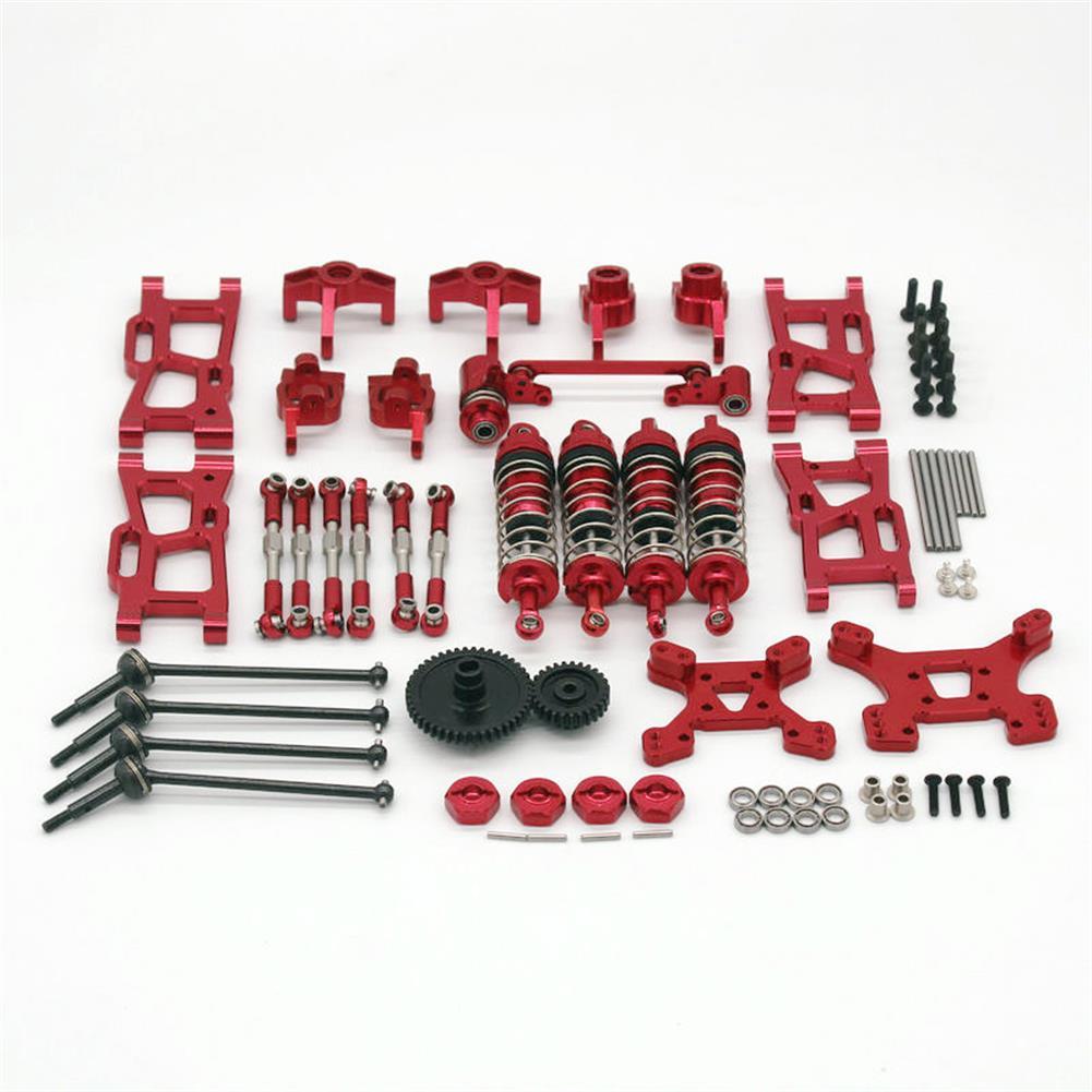 rc-car-parts Wltoys 1/14 144001 124019 Upgrade Metal Upgrade Parts with Shock Adapter Set RC Car Parts HOB1803778 2