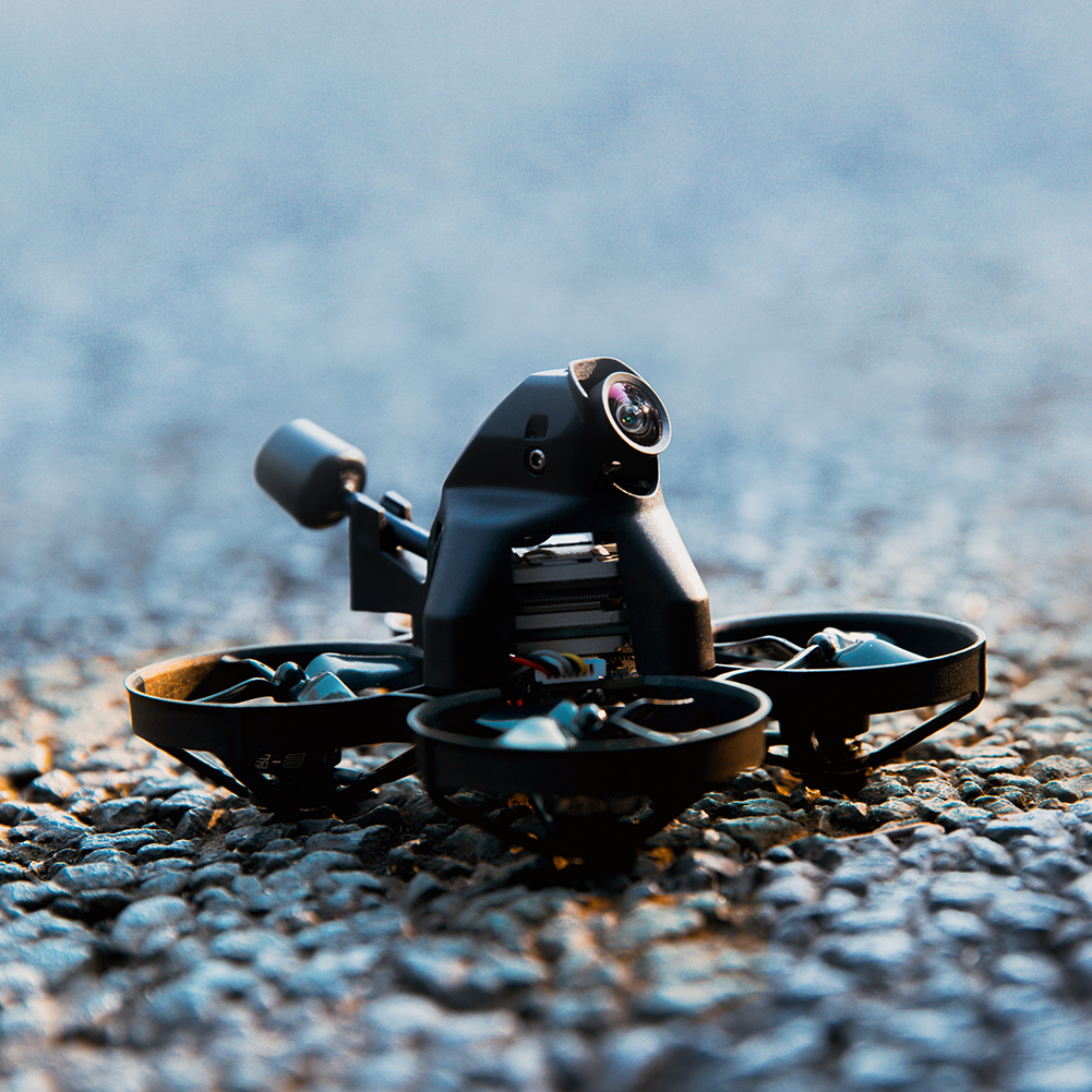 fpv-racing-drone iFlight Alpha A75 HD 78mm SucceX-D 20A Whoop F4 3S CineWhoop FPV Racing Drone BNF w/ Caddx Nebula HD Digital System HOB1803801 1