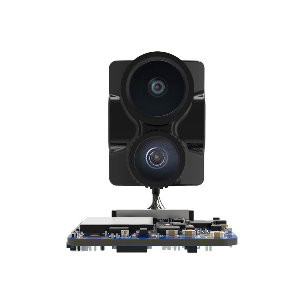 fpv-system RunCam Hybrid 2 True 145 Wide Angle 4K HD & FPV Camera NTSC/PAL Switchable for Free Style Flying RC Drone HOB1803829
