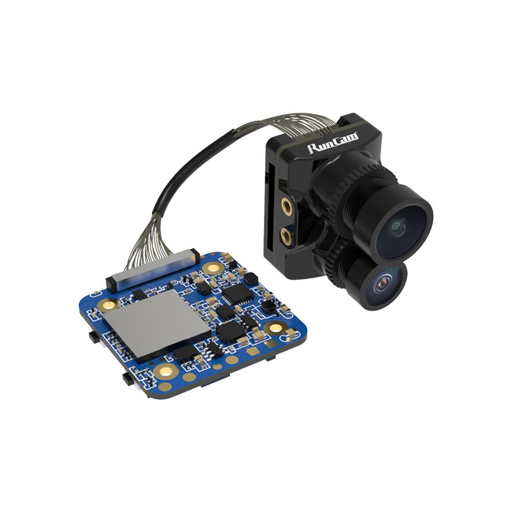 fpv-system RunCam Hybrid 2 True 145 Wide Angle 4K HD & FPV Camera NTSC/PAL Switchable for Free Style Flying RC Drone HOB1803829 1