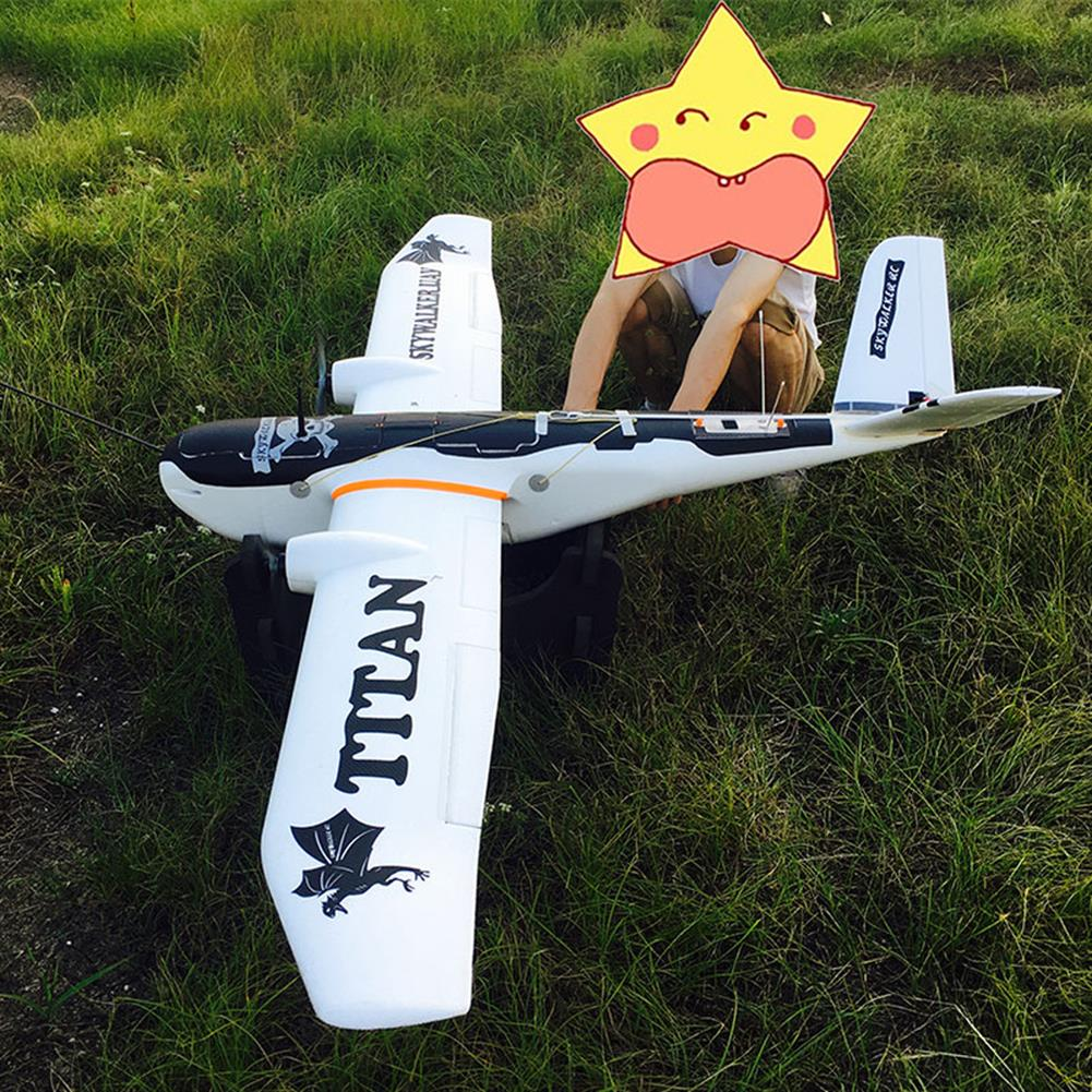 rc-airplane Skywalker Titan 2160mm Wingspan V-Tail Twin-Motor EPO Aerial Survey Aircaft RC Airplane KIT HOB1803879 1