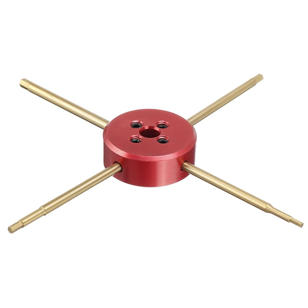 tools-bags-storage URUAV URT16 4in1 1.5/2.0/2.5/3.0mm Titanium Screwdriver Propeller Tools for RC Car HOB1804154 3