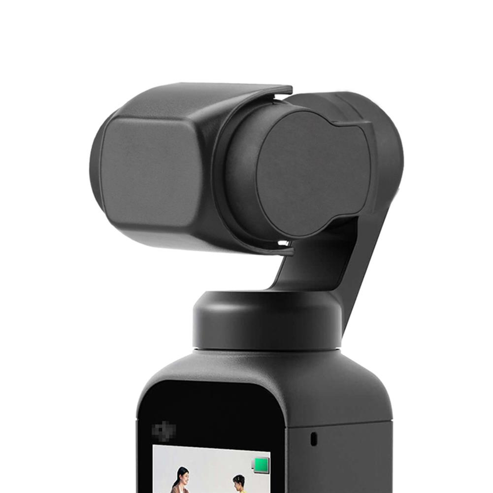 fpv-system Universal Black Plastic Lens Protective Cover for DJI OSMO POCKET / Pocket 2 Gimbal Camera HOB1804167 1