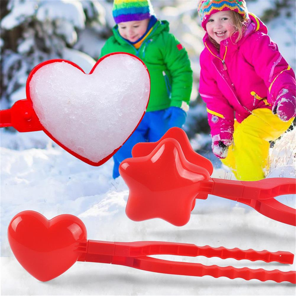 beach-play Snowball Fight Snowball Clip Mold Parent-child interaction Outdoor Snow Play Sleet Equipment Toys HOB1804543 1