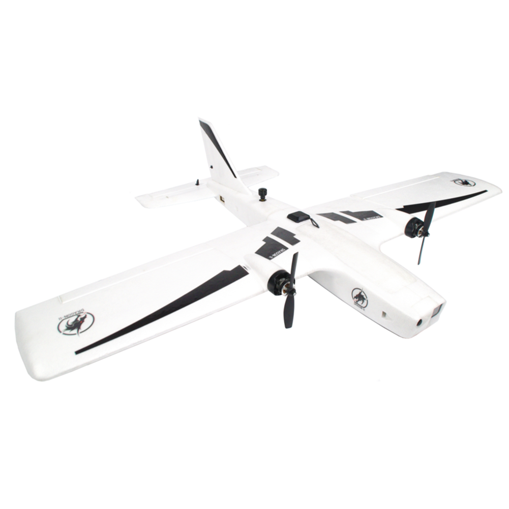 rc-airplane REPTILE DRAGON-2 1200mm Wingspan Twin Motor Double Tail EPP FPV RC Airplane KIT/PNP HOB1805237 1